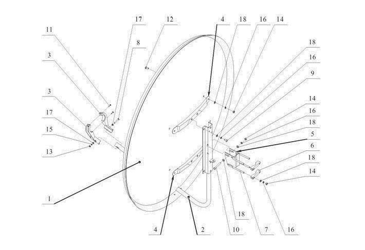 Схема сборки SA-1200